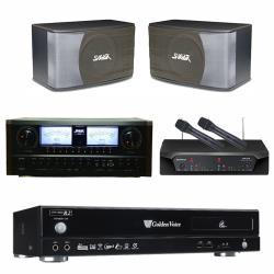 金嗓 CPX-900 R2伴唱機 4TB+SUGAR A-600+CHIAYO NDR-2120+SGUAR SK-8610