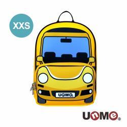 【UnMe】車車樂園幼兒減壓透氣書包-小巴士(xxs)