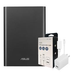 【送原廠18W充電組】ASUSZenPowerProPD原廠可充筆電行動電源-黑色(公司貨)