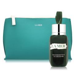 LA MER 海洋拉娜 濃萃雙重修復精華(15ml)+限量歡慶化妝包