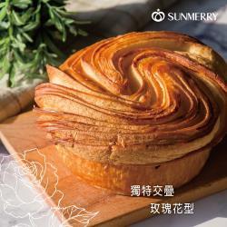 【聖瑪莉】手撕玫瑰花型丹麥麵包