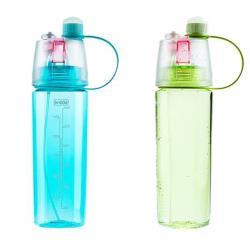 多功能水瓶噴霧兩用水壺400ml