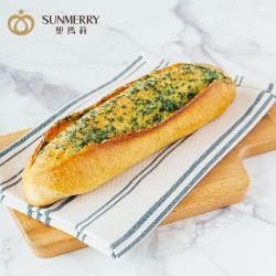 【聖瑪莉】巴西里香蒜法國麵包x1入