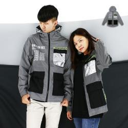 『RFD』BK反光機能衝鋒風衣-1色可選《004BK805》