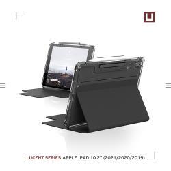[U] iPad 10.2吋耐衝擊亮透保護殼-黑