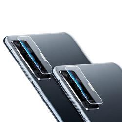 QinD vivo X50 鏡頭玻璃貼(兩片裝)