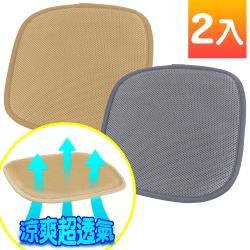 源之氣-立體透氣隔熱坐墊 (二色可選 2入 45x45cm) RM-9468