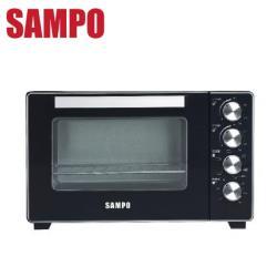 SAMPO 聲寶 32L烘烤雙溫控旋風電烤箱 KZ-XR32F-