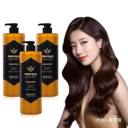 【Kerasys】可瑞絲蜂膠活力光澤洗髮精3瓶組