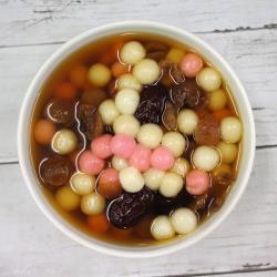 桂圓紅棗湯圓食材包(約3-4人份)