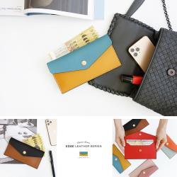韓國創意品牌 invite.L CASH WALLET 長夾 錢包 手機 名片夾 小物收納 鈕釦式設計 正品空運