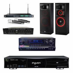 音圓S-2001 N2-350點歌機4TB+Danweigh DW1+MIPRO ACT-869+XLS-12+FBC-9900