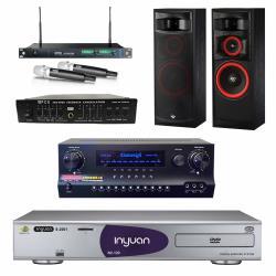 音圓 S-2001 N2-120伴唱機4TB+Danweigh DW1+MIPRO ACT-869+XLS-12+FBC-9900
