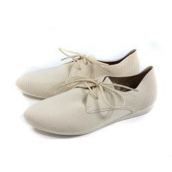 inooknit 休閒鞋 綁帶 編織 米色 女鞋 IK-BJ3FW0503-000 no039