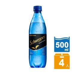 舒味思 氣泡水-伯爵紅茶 寶特瓶500ml(4入/組)