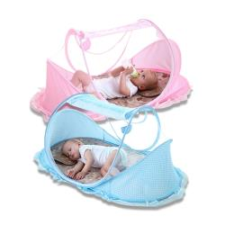 加大透氣可折疊寶寶防蚊帳