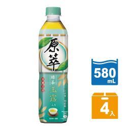 原萃 玉露綠茶寶特瓶580ml (4入/組)