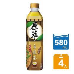 原萃 烏龍茶(文山包種)寶特瓶 580ml(4入/組)