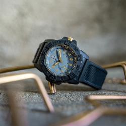 LUMINOX 雷明時NAVY SEAL海豹部隊腕錶 – 水泥灰 /45mm 3508GOLD