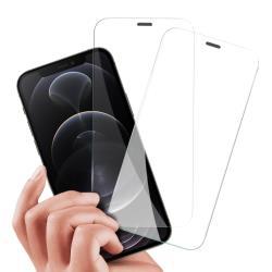 City Boss for iPhone 12 / 12 Pro 6.1吋 無孔防塵防水滿版鋼化玻璃貼-2 張入