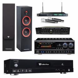 金嗓 CPX-900 F1 點歌機4TB+NaGaSaki BB-1BT+MIPRO ACT-869+SL-28+FBC-9900