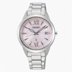 SEIKO 精工 LUKIA V147-0CL0P 太陽能腕錶 (SUT389J1)