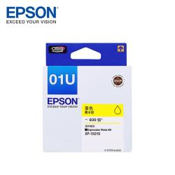 EPSON T01U(C13T01U450)原廠黃色墨水匣