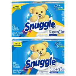 美國 Snuggle烘乾機香衣片70片x3