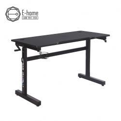 ArcticWolf Magician魔術師手動升降碳纖維電競桌-黑色