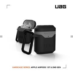 UAG AirPods 耐衝擊硬式保護殼V2-黑灰