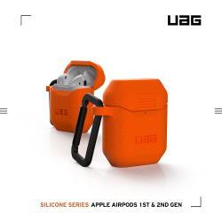 UAG AirPods 耐衝擊防塵保護殼V2-橘