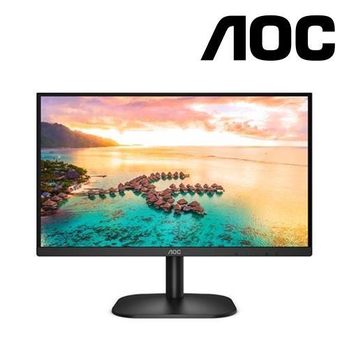 AOC24B2XH24型雙介面無閃爍液晶螢幕