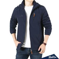 HeHa-刷毛連帽保暖套頭夾克 四色
