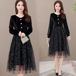 【韓國K.W.】(預購)完美舒適長袖洋裝
