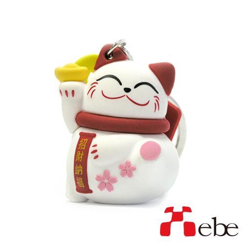 【Xebe集比】招財貓造型OTG隨身碟