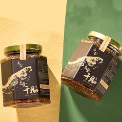 晶鱻烏金 烏金干貝醬 260G/瓶