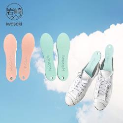 日本岩崎 硅藻土吸濕除臭鞋用防潮片 (1雙)