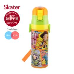 Skater 兒童不鏽鋼直喝式水壺(470ml)  玩具Comics