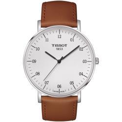 TISSOT EVERYTIME Big Gent 大錶徑時尚錶(T1096101603100)白/42mm
