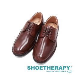 SAPATOTERAPIA巴西ROMA正裝紳士減壓皮鞋 男鞋-咖