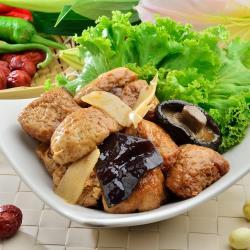 南門市場老林記 紅燒烤麩(280g/份)