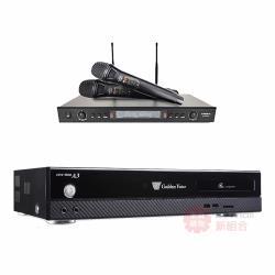 金嗓 CPX-900 A3 智慧點歌伴唱機 4TB+DoDo Audio SR-889PRO 無線麥克風