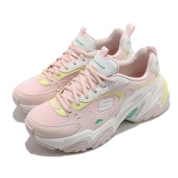 Skechers 休閒鞋 Stamina V2 厚底 女鞋 輕量 避震 緩衝 防滑 耐磨 修飾 粉 黃 149510PKMT [ACS 跨運動]
