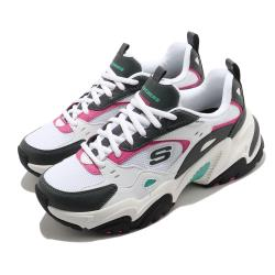 Skechers 休閒鞋 Stamina V2 厚底 女鞋 輕量 避震 緩衝 防滑 耐磨 修飾 白 灰 149510WGPK [ACS 跨運動]