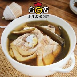台G店養生廚房 剝皮辣椒雞(1005g±10g/包)