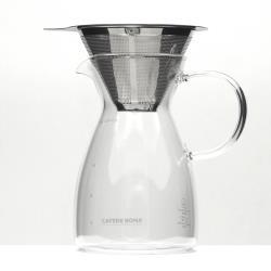 CAFEDE KONA 雙層不鏽鋼濾網(1-2cup)+咖啡分享壺