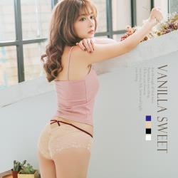甜心嚴選 唯愛心機 歐式柔軟透膚美腰蕾絲內褲4色組合