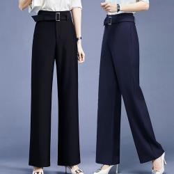 麗質達人 - 2746設計款百搭褲-二色