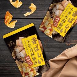 【尚野家】牛蒡香酥脆餅80gX4包