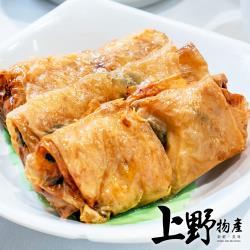 【上野物產】非基改超薄千張豆腐皮(120g±10%/40片/包)x3包